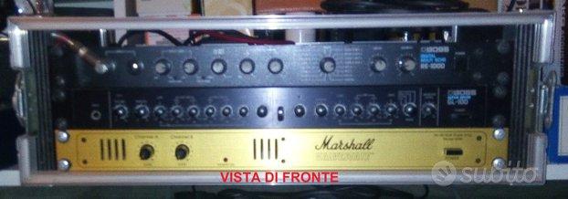 MARSHALL BOSS Amplificatore Rack per Chitarra