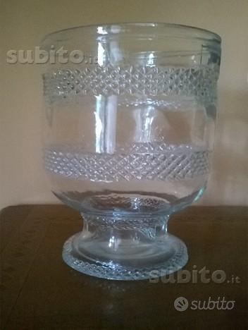 Centrotavola in vetro lavorato - Arredamento e Casalinghi ...