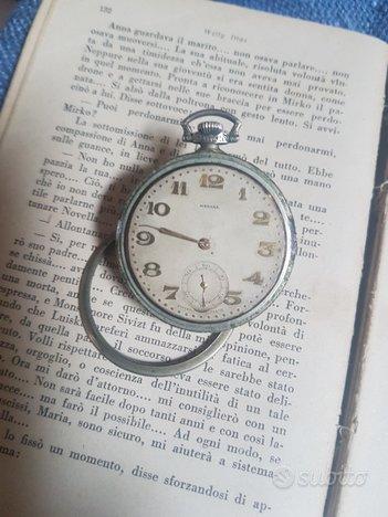 antico orologio da tasca medana primi del 900