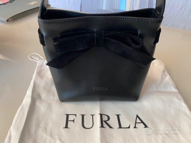Borsa BAG clutch pochette FURLA nera