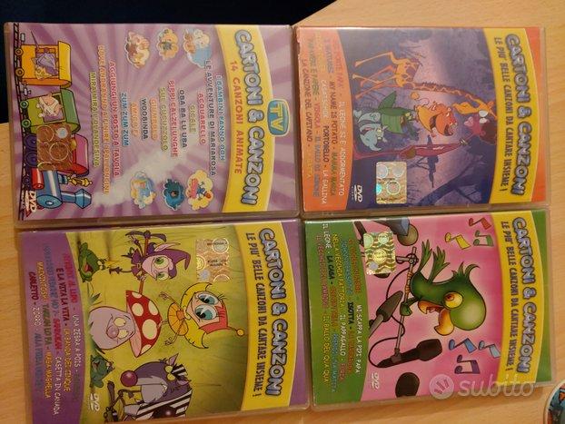 Dvd Film Disney e Canzoni dei cartoni animati