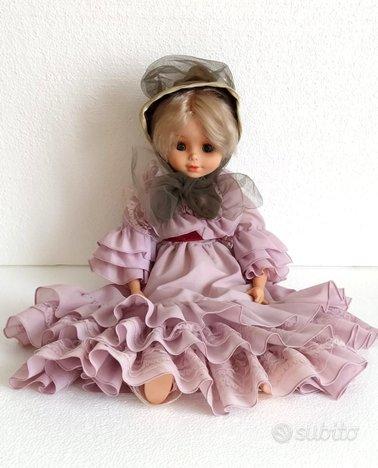 Bambola Migliorati Damina 70 da collezione vintage