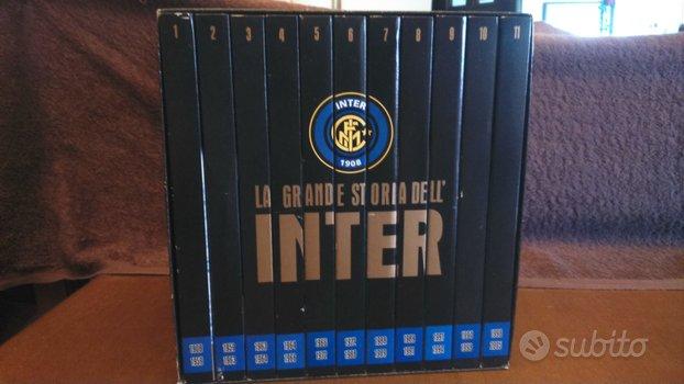 Box 11 dvd la grande storia dell'inter 1908-2005