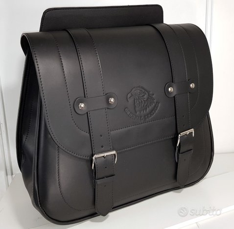 Borsa laterale di pelle Harley Davidson, Custom 30