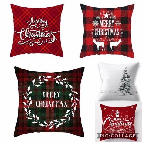 Cuscini Natale federa più imbottitura NUOVO,HARRY & CAMILA
