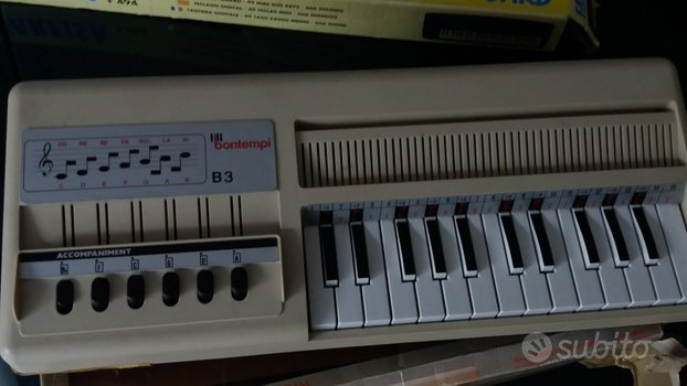 Pianola Bontempi vintage