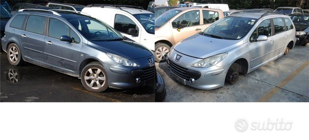 Ricambi peugeot 307 sw 2007 restyling