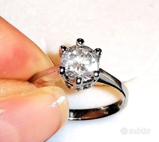 1 Ct E/SI1 Diamante Naturale, Iscrizione Laser IGL