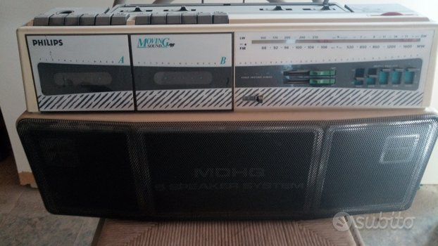 """Stereo Philips """"Moving Sound"""""""