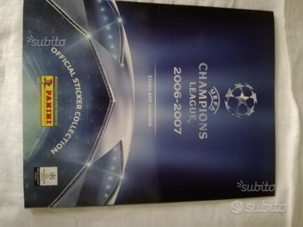 Album Panini Champion's League 2006/2007