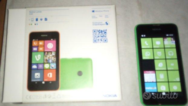 SMARTPHONE NOKIA LUMIA 530 3G Wifi Verde Ricambi