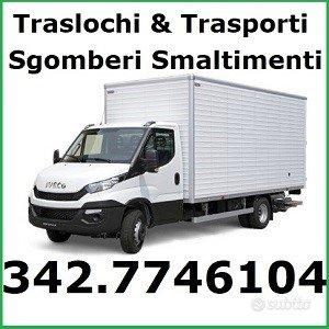 Traslochi Trasporti Sgomberi Noleggio furgone 7gg