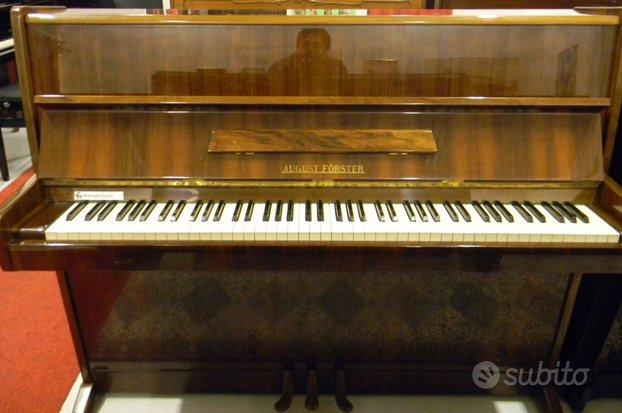 Pianoforte acustico - August Forster