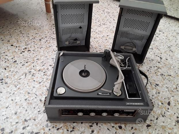 Monarch stereo compact vintage anni 60