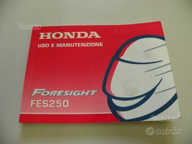 Uso e manutenzione scooter Honda