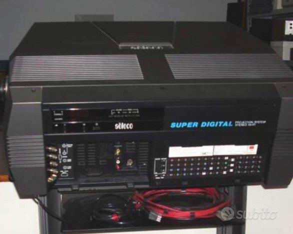 Proiettore system stereo hi-fi