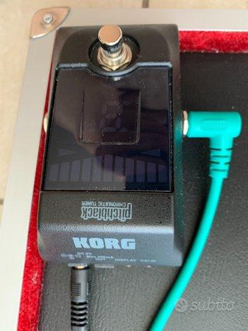 Accordatore digitale pedaliera Korg PitchBlack