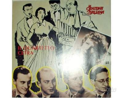Il quartetto cetra - la canzone italiana - lp