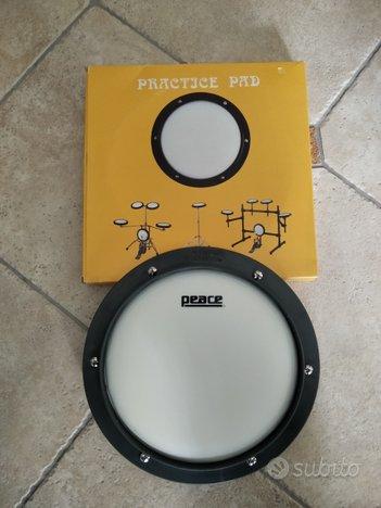 Pratiche pad e kit per imparare la batteria