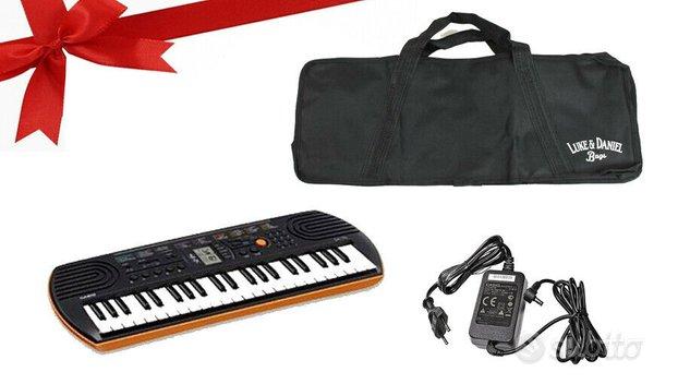 Casio sa 76 arancione - tastiera scuola