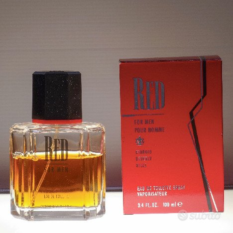 Red for men giorgio beverly hills
