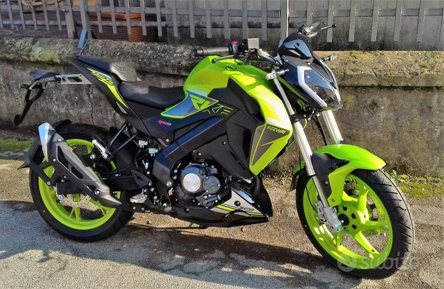New NAKED Keeway RKF 125 LIMITED EDITION 20th
