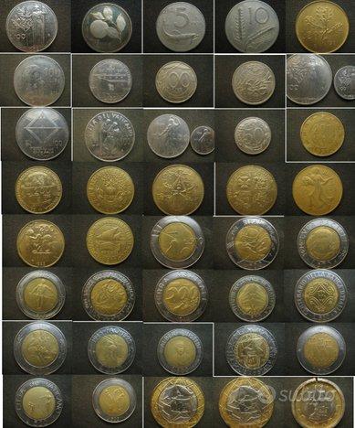 Collezione di 41 monete - Lira Italia