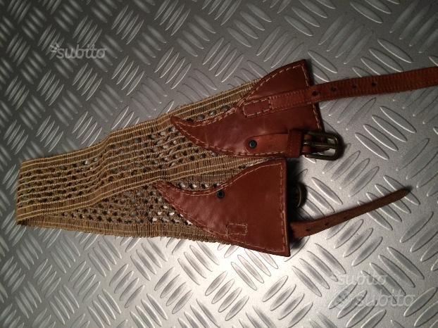 Cintura in cuoio donna cm. 66