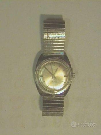 Orologio Mirexal elastico anni 70