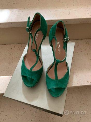 Sandali Alti Verdi