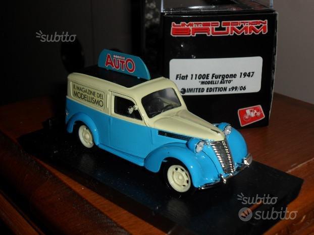Fiat 1100E furgone 1947 ed.lim Brumm SS99/06