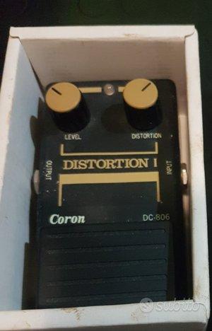 Distorsore per chitarra vintage coron dc-806
