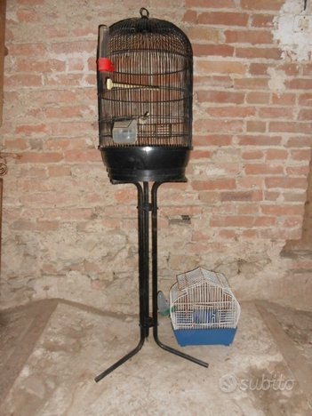4 gabbie voliere per uccelli