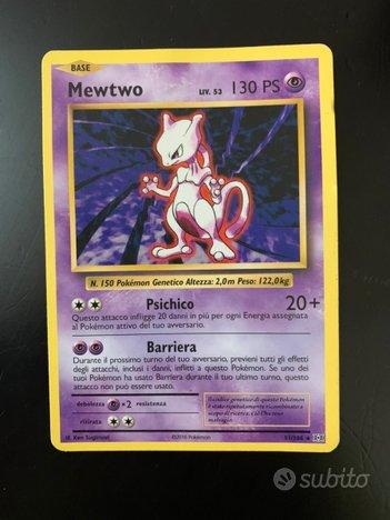 Carta Pokemon mewtwo