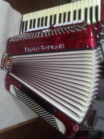 Fisarmonica paolo soprani 120 bassi 4/5