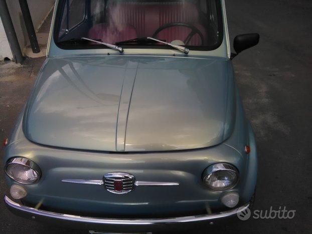 FIAT 500f iscritta ASI
