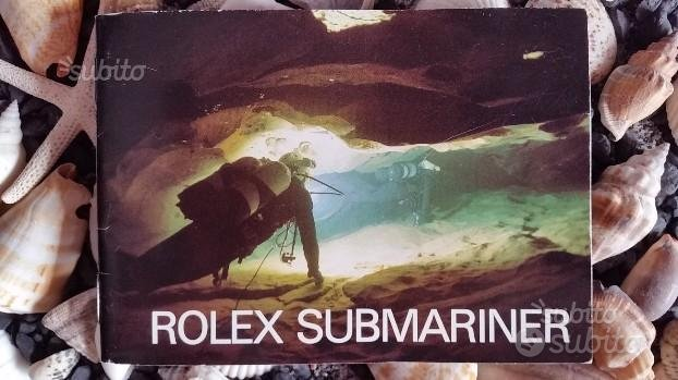 Libretto/Booklet Rolex Submariner Italiano 1984