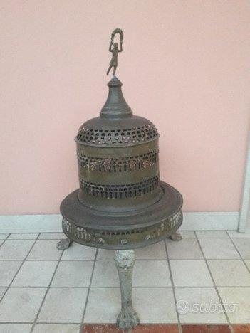 Bracere in ottone a Campana Antico Autentico