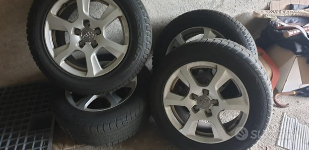 Ruote complete audiA4 A3 GOMME INVERNALI