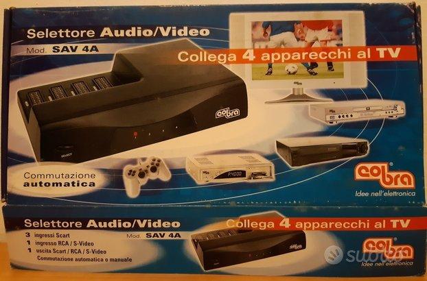 Selettore Audio Video COBRA SAV 4A