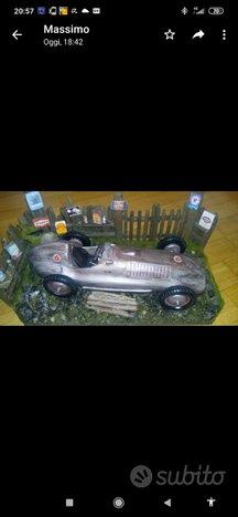 Modellino Mercedes epoca