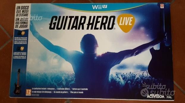 Guitar Hero Live WiiU (nuovo-sigillato)
