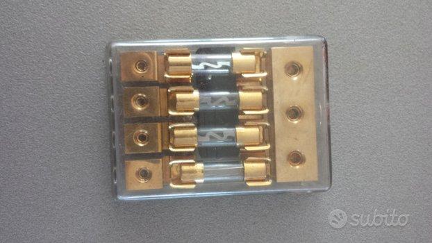 Porta fusibile di potenza oro