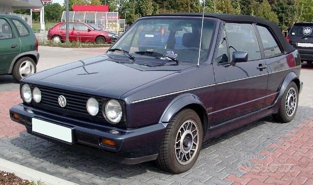 Capote VW Golf cabrio 1 e 2 dal 78 al 94
