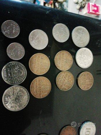 Monete da collezione antiche, da Malta, Francia, J
