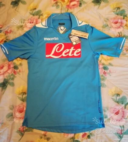 Maglia calcio ssc Napoli nuova macron 2013