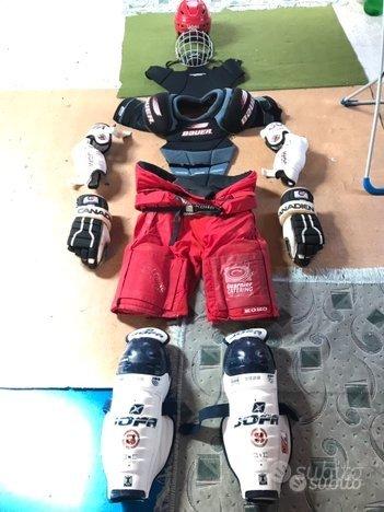 Attrezzatura hockey ghiaccio completa 180cm