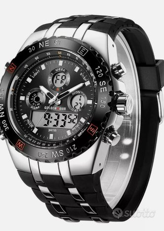 Orologio cronografo Golden Hour