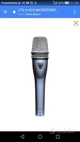 Microfono jts professionale