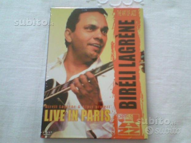 Bireli Lagrene - Live in Paris DVD
